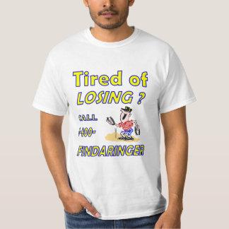 Camiseta de herradura del valor del cabeceo playera