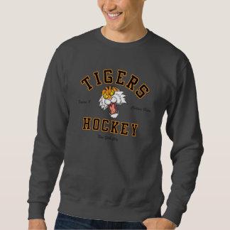 Camiseta de Hoickey de los tigres Sudaderas Encapuchadas