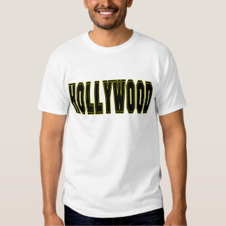 Camiseta de Hollywood Poleras