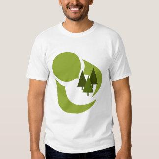 Camiseta de Hugger del árbol Playeras