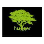 Camiseta de Hugger del árbol Postal
