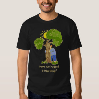 Camiseta de Hugger del árbol Remera