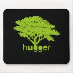 Camiseta de Hugger del árbol Tapetes De Raton
