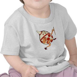 Camiseta de Humpty Dumpty del vintage del niño