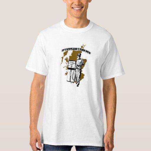 Camiseta de Indy de la vuelta de Scotlands del Poleras
