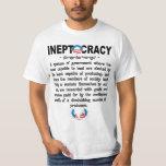 Camiseta de Ineptocracy de la administración de Polera