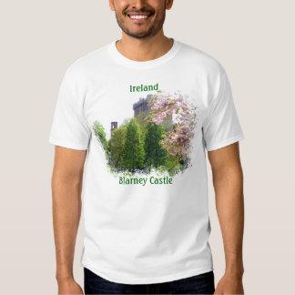 Camiseta de Irlanda del castillo de la lisonja Playera