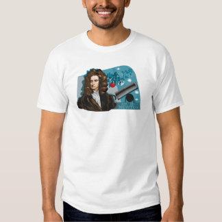 Camiseta de Isaac Newton Poleras