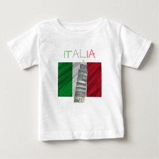 Camiseta de Italia del bebé Playeras