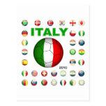 Camiseta de Italia Postal