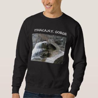 Camiseta de ITHACA, GARGANTA de NUEVA YORK Sudadera