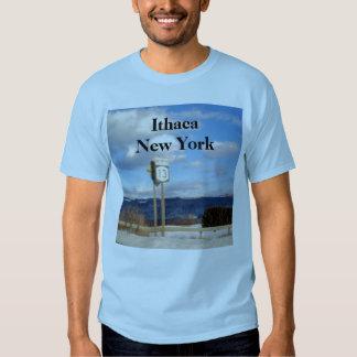 Camiseta de ITHACA, NUEVA YORK Playeras