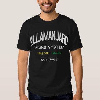 Camiseta de Jamaica del sistema de sonido de Remera