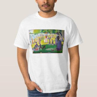 Camiseta de Jatte del La de Seurat grande Remeras