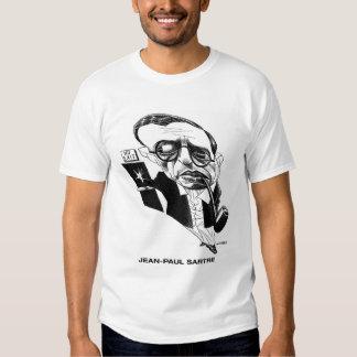 Camiseta de Jean-Paul Sartre Polera