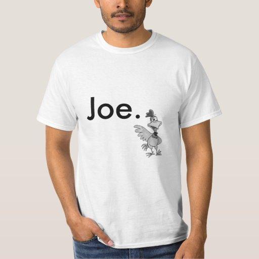 Camiseta de Joe del pollo Polera