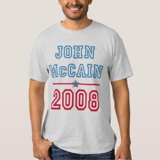Camiseta de John McCain Playeras