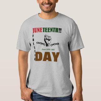 Camiseta de JUNETEENTH Poleras