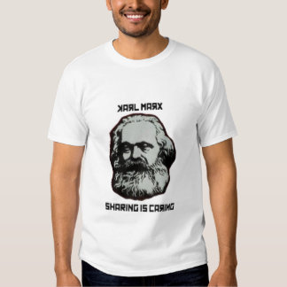Camiseta de Karl Marx Playera