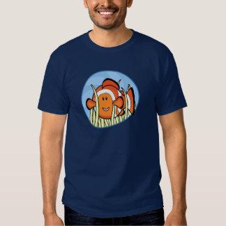 Camiseta de Kawaii Clownfish Playera
