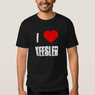 Camiseta de Keesler Poleras
