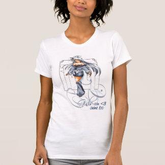 Camiseta de Kitsune de la nieve