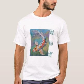 Camiseta de Koi de la mariposa
