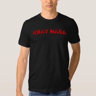 Camiseta de Krav Maga - rojo Playeras