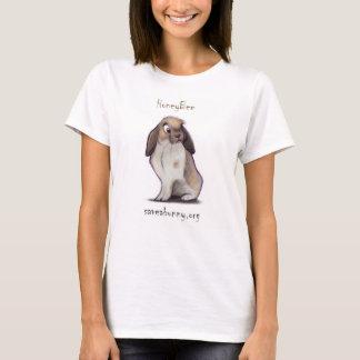 Camiseta de la abeja para las mujeres