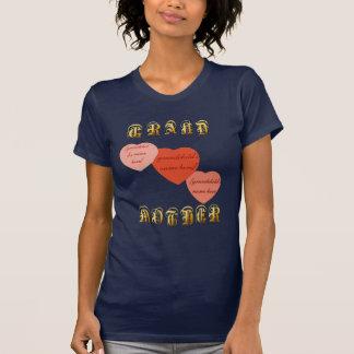 Camiseta de la ABUELA hearts-3