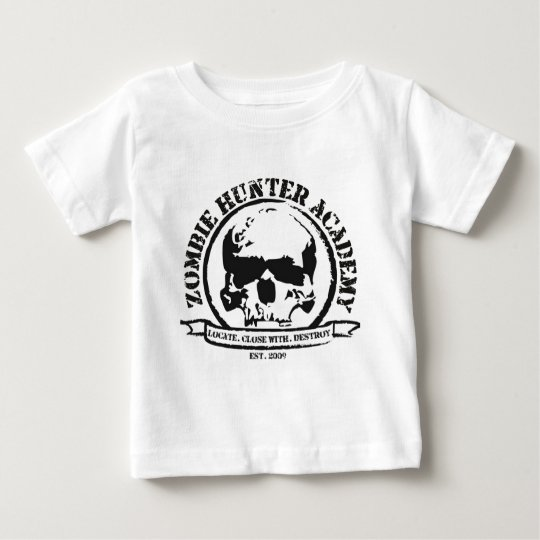 Camiseta de la academia del cazador del zombi