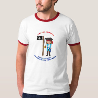 Camiseta de la academia del pillaje remera