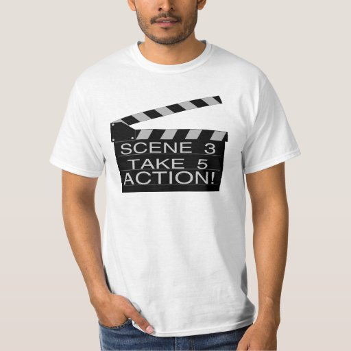 Camiseta de la acción