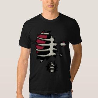 Camiseta de la anatomía de los Undead Camisas