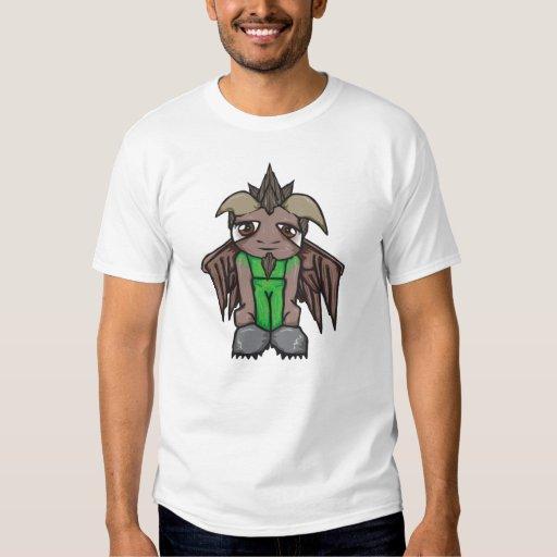 Camiseta de la anciano del musgo playeras
