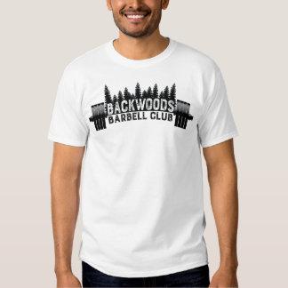 Camiseta de la aptitud del club del Barbell de la Remeras