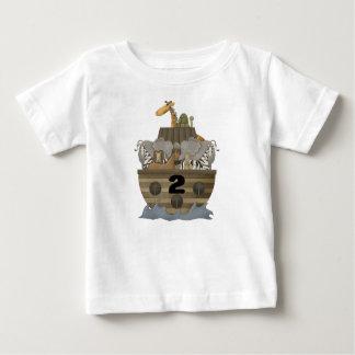 Camiseta de la arca de dos 2 de los años Noah del Polera