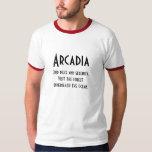 Camiseta de la Arcadia Polera