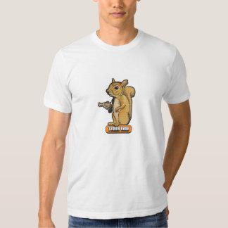 Camiseta de la ardilla de Tommy Kane Playera