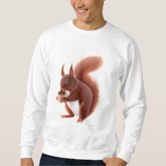 Camiseta de la ardilla roja sudadera