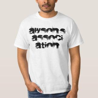 Camiseta de la asociación de Alyson