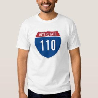 Camiseta de la autopista 110 polera