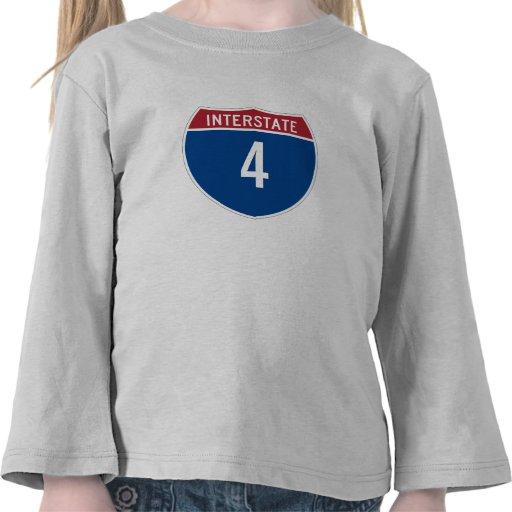 Camiseta de la autopista 4