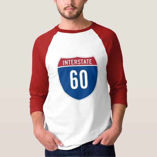 Camiseta de la autopista 60 playeras