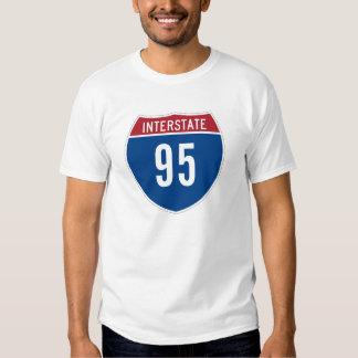 Camiseta de la autopista 95 remera