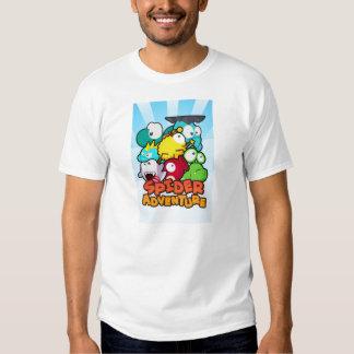 Camiseta de la aventura de la araña remera