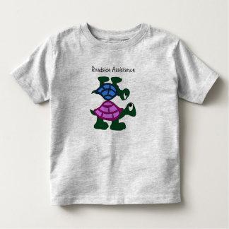 Camiseta de la ayuda del borde de la carretera playeras