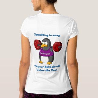Camiseta de la balanza de las mujeres del ocupante remeras