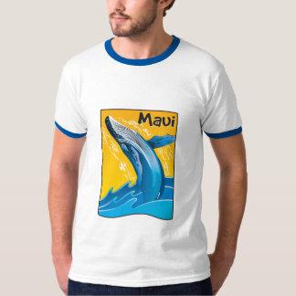 Camiseta de la ballena de Maui Polera