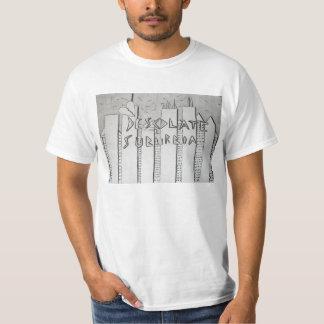Camiseta de la banda de las áreas residenciales de